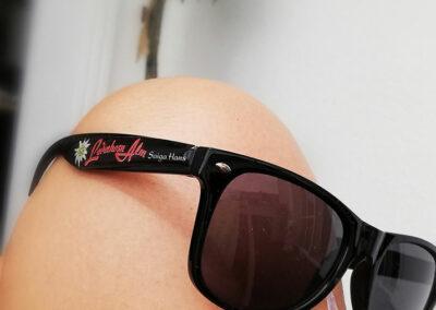 Unsere neue, coole Lederhosn Alm Brille